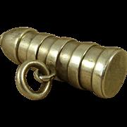 Ribbed Palliser Artillery Shell Shot Mordan Silver Propelling Pencil Antique