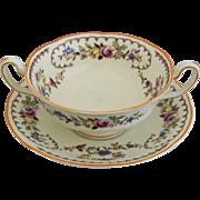 Royal Doulton The Beaufort Cream Soup & Saucer
