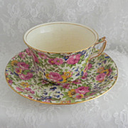 Wright Tyndale Roden Summertime Chintz Cup & Saucer
