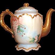 Vintage Haviland Teapot -Tea Pot - Hand-painted - MINT