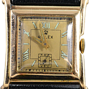 SALE 1930's Rolex Square Face Manual Wind - Vintage