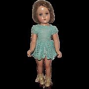 "Vintage Composition Arranbee R&B ""Nancy Lee Skater Doll"" 18"" Circa 1938"