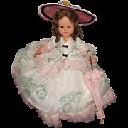 "Vintage Stunning Italian Furga Doll ""Adrianna"" In Original Tagged Outfit"
