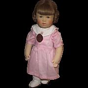 "Gorgeous Vintage Original Kathe Kruse Stoffpuppe Doll In Original Outfit 13"""