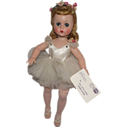 "Gorgeous Vintage Madame Alexander ""Lissy"" In Original Tutu Circa 1957"