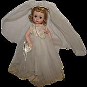 "Vintage Madame Alexander Gorgeous ""Lissy Bride Doll"" 12"" Circa 1956"