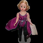 """Vintage Madame Alexander """"Violet Ballerina"""" 9"""" Portrettes With Original Wrist T"""