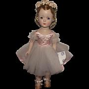 "Vintage Gorgeous Madame Alexander Margaret Face ""NINA BALLERINA"" Orig Wrist Tag & Ta"