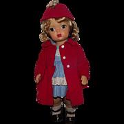 "Vintage Terri Lee Doll In Original Outfit 16"" Circa 1947"