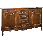 Louis XV Style French Provincial Buffet
