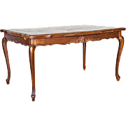 REDUCED Vintage Louis XV Style Dining Table