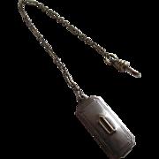 SCHEER Art Deco Watch Chain & Belt Fob - Downton Abbey Alert