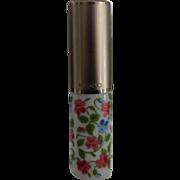 MIKADO TOKYO Floral Milk Glass Perfume Atomizer, Unused in Box, c. 1980's