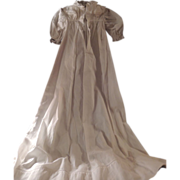 Vintage Christening Gown for Baby Doll.