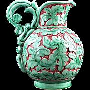 SALE AZUREART French Art Deco Ceramic Ewer at MONACO 1940