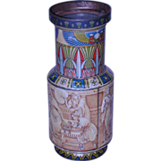 Huntley & Palmers Egyptian Urn Biscuit Tin 1924