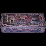 MacFarlane Lang & Co Chinese Glove Box Biscuit Tin 1911