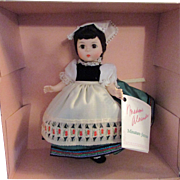 SALE 1950s - 1960s Vintage Madame Alexander Doll of the World Italy 553 MIB