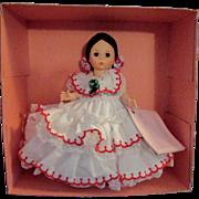 SALE 1950s - 1960s Vintage Madame Alexander Doll of the World Panama 555 MIB