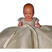 REDUCED 3.5 inch Nancy Ann Storybook Bisque Hush a bye Baby