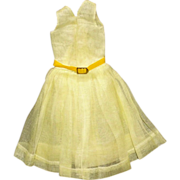 SOLD 6.5 inch Pal Yellow Dress with belt for your Fashion Doll