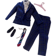 SOLD 1963 #9478-9 Tammy Family Plaid Suit for Ted Complete