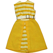 SOLD Ideal Tammy Doll Vintage Sunny Stroller Dress and White belt