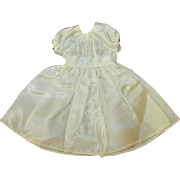 SALE Cream Satin Dress for Vogue Jill Jan or other Doll