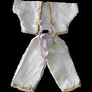 Ginny Outfit Factory made Lavender Satin PJs Pajamas Pant Top