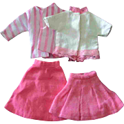 Tammy Pepper 12 inch Fashion Doll Clone Mommy Made Clothes Pink Skirt Blouse