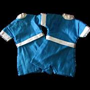 Tammy Other 12 inch Fashion Doll Blue Onesie Jumpsuit Set of 2