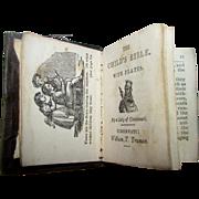 "2"" Miniature Child's Pocket Tiny 1834 Truman Smith & Co. Cincinnati OH Bible"
