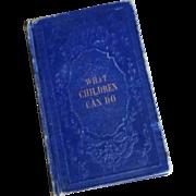 """Vintage 4.5"""" Pocket size Miniature Book for Larger Doll"""