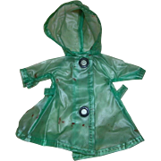 REDUCED Green raincoat for Ginny or Ginger