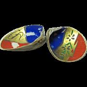 Japanese Vintage Hand Painted Kai awase (貝合) Game Shells