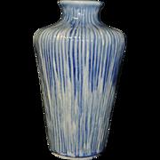 Chinese Gorgeous Blue and White Glazed Porcelain Vase