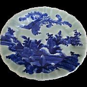 Japanese Antique Imari 伊万里 Sometsuke-Seiji Ozara Obaru- Zara Porcelain Platter