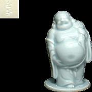 Japanese Vintage Nabeshima  Porcelain Okimono/ Statue of Budai/ Hotei By Famous Potter Choshun