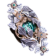 SOLD Large Statement Ring Victorian Style Ring Dragonfly Ring Inspired By Nature