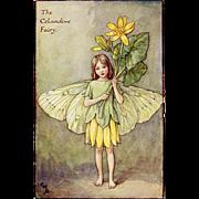 Flower Fairy Print - Celandine, 1930s