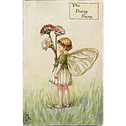 Flower Fairy Print - Daisy, 1930s