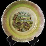 SALE Minton's Wild Boar Plate