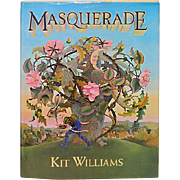 """Masquerade"" by Kit Williams/1st U.S. Edition"