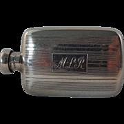 SALE Antique Tiffany Co. Sterling Silver Perfume Bottle