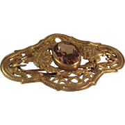 SALE Antique Edwardian Sash pin Brooch