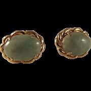 SALE STOREWIDE 14K Jade Jadeite 12ctw Jade Earrings