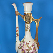 REDUCED Royal Worcester Persian Style Ewer Shape 891 ca. 1888