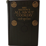 Mrs. Beeton's  All About Cookery 1911 New Edition Hardback