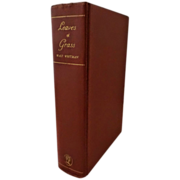 Walt Whitman - Leaves of Grass - Aventine Press 1931