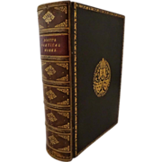 Scott's Poetical Works - Full Leather Fine Binding - Edina edition Andrew Lang editor